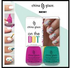 China Glaze On The Dot 4pc Kit