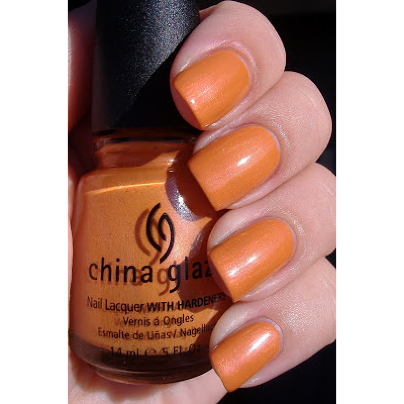 China Glaze Code Orange