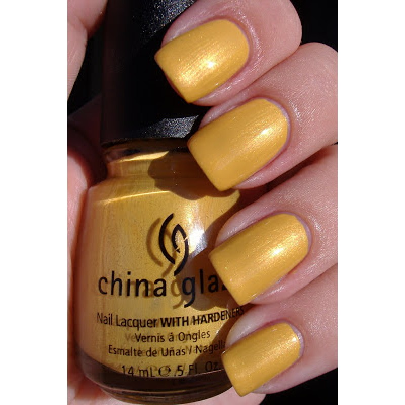 China Glaze Golden Opportunity