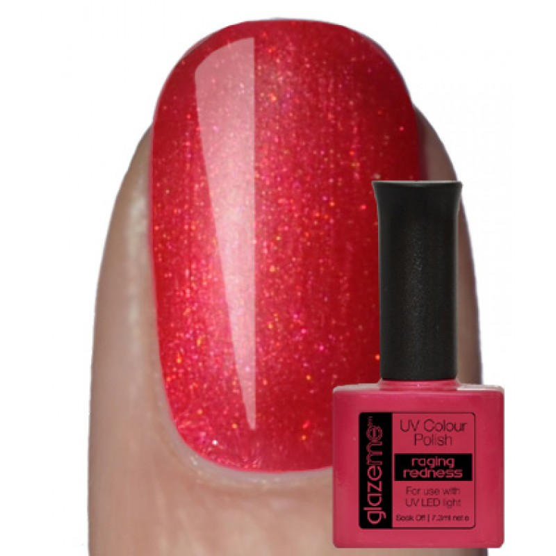 GlazeMe Raging Redness Gel Polish