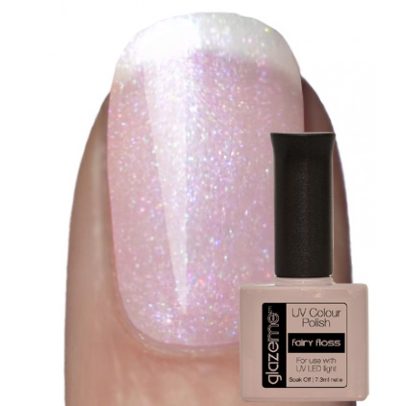 GlazeMe Fairy Floss Gel Polish