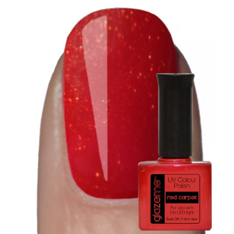 GlazeMe Red Carpet Gel Polish