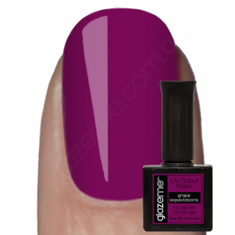 GlazeMe Grape Expectations Gel Polish
