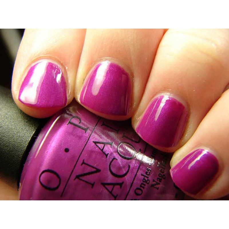 OPI - Plugged-in Plum (Retiring)