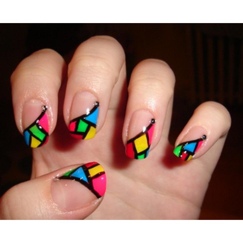 Creative colorful nail designs cool creative colorful nail designs prinsesfo Gallery