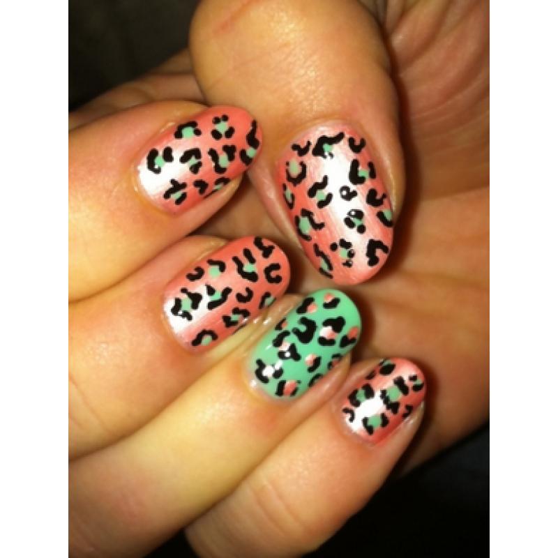 Leopard Nail Art Designs