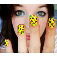 Yellow Nail Design Ideas