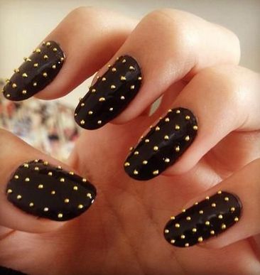 Awesome Black Nail Designs