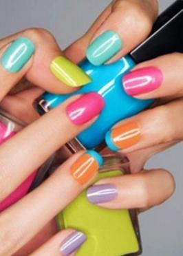 Colourful Nail Design Ideas