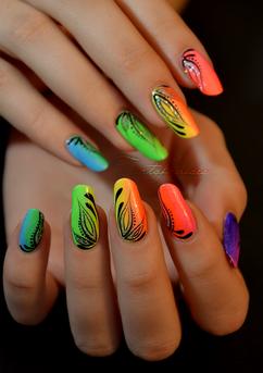 Nail designs colorful image collections nail art and nail design nail designs colorful image collections nail art and nail design cool creative colorful nail designs here prinsesfo Image collections
