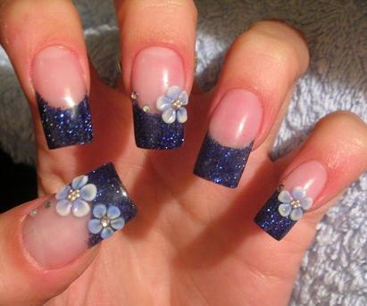 Flower Nail Design Ideas